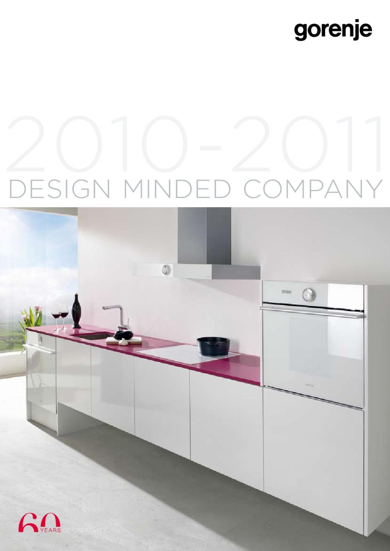 Brochure Gorenje Design Minded Company 2010 2011 By Dd Issuu Ariston An 15rs 350 Watt Water Heather