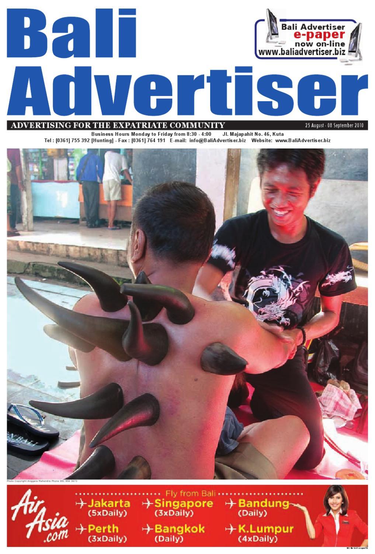 25 August 2010 By Bali Advertiser Issuu Kody Beige Nokha Boot Women 39