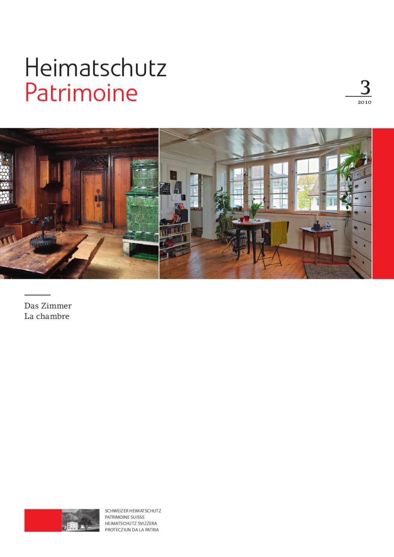 Heimatschutz/Patrimoine, 3-2010 by Schweizer Heimatschutz ...