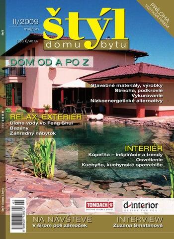 3c4a32da11d18 Styl domu a bytu 2/2009 by Reklamny Servis - issuu