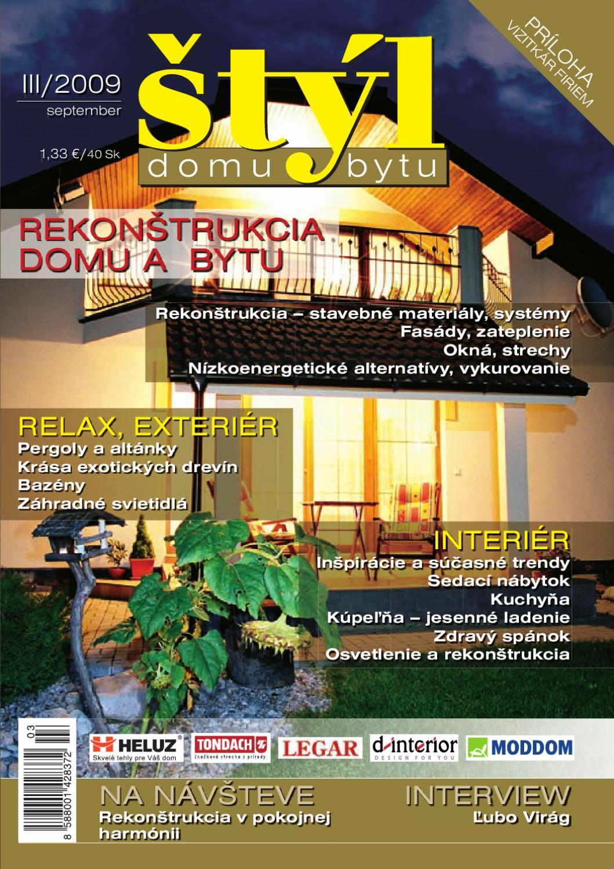 3e21f577fbec7 2738-09_STYL domu a bytu 3-2009 by Reklamny Servis - issuu