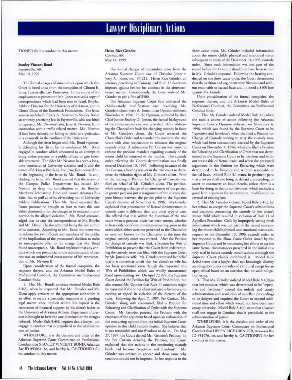 Vol 34 No 4 Fall 1999 By Arkansas Bar Association Issuu