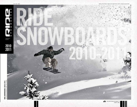 c7b8fd074749 Ride Snowboards 2010 2011 Product Guide by matt sickels - issuu