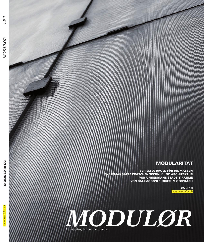 Modulor 05 2010 By Boll Verlag   Issuu