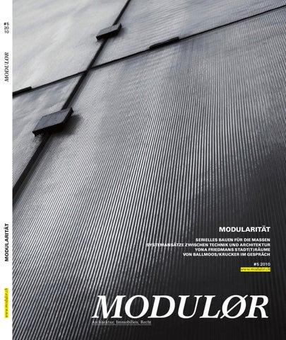 Modulor 05 2010 by Boll Verlag - issuu