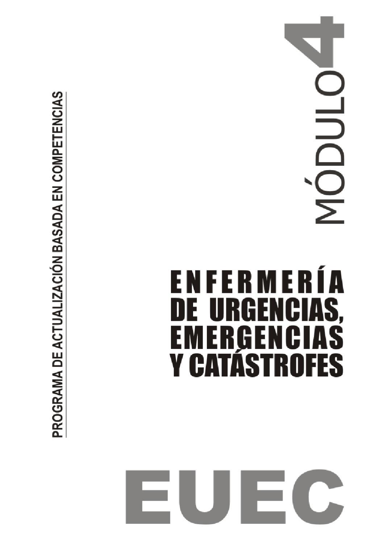 Enfermería de Urgencias desastres y catastrofes IV by Salud ...