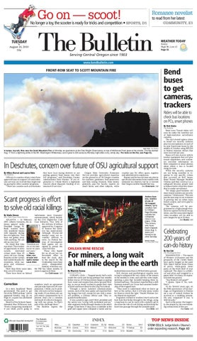 42a7a24b8 Bulletin Daily Paper 08/24/10 by Western Communications, Inc. - issuu