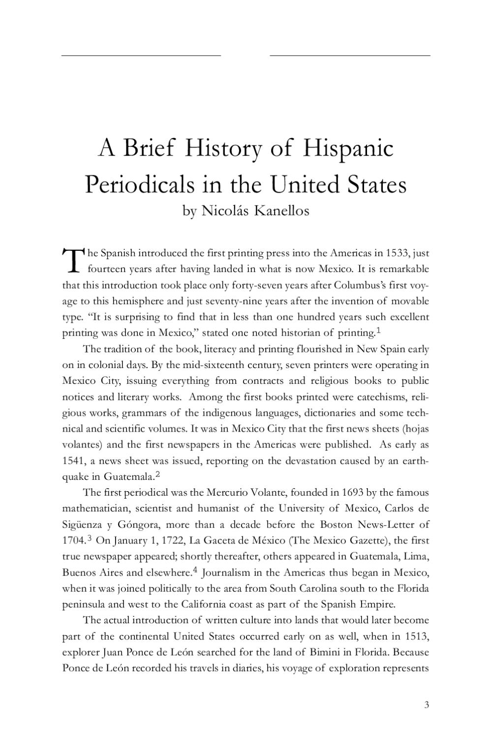 Hispanichistory By Issuu