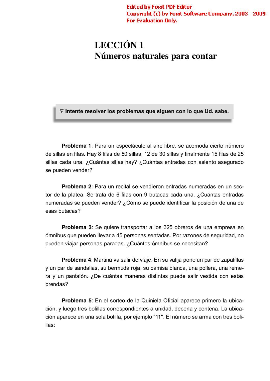 By Nivel Matemática 1º Coria Liliana Issuu FKl1JTc3