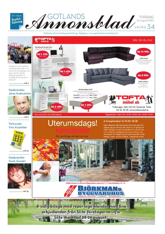 Gotlands Annonsblad 2010 v.02 by Svenska Civildatalogerna AB - issuu a56489d99f58a