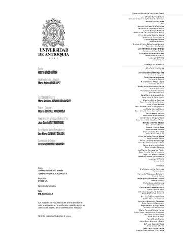 MEMORIA PREMIOS NACIONALES DE CULTURA UDEA by Universidad de ...