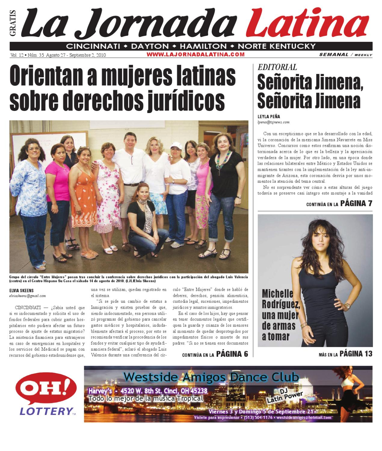 La Jornada Latina Cincinnati Agosto 27 by TSJ Media issuu