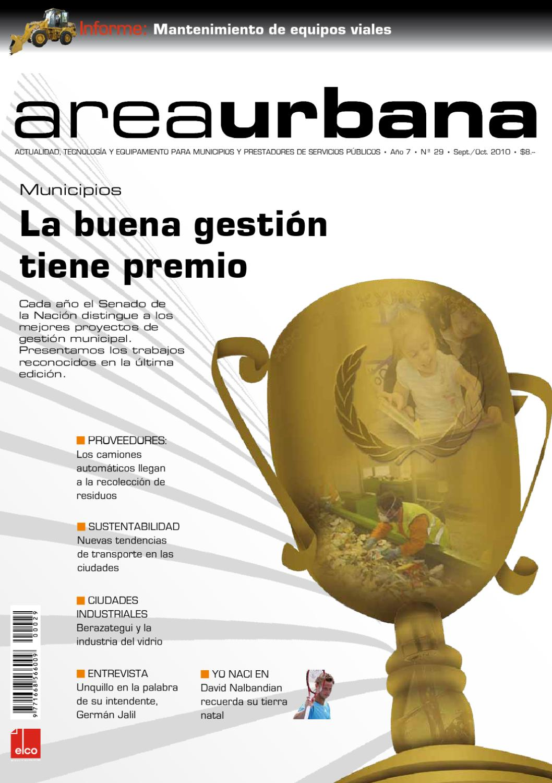 AreaUrbana 29 – Año VII – Septiembre   Octubre 2010 by ELCO Editores - issuu f34edfad28b