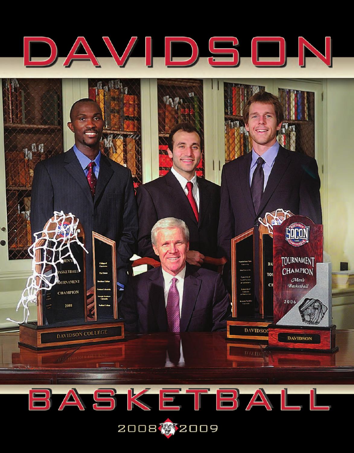 18dcbbe71adc 2008-09 Davidson Men s Basketball Media Guide by Marc Gignac - issuu
