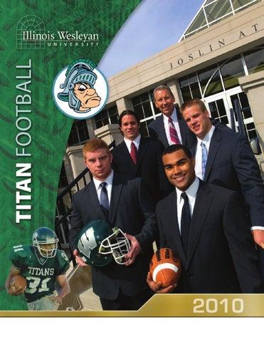 Titan Athletics Football 2010 By Illinois Wesleyan University Issuu