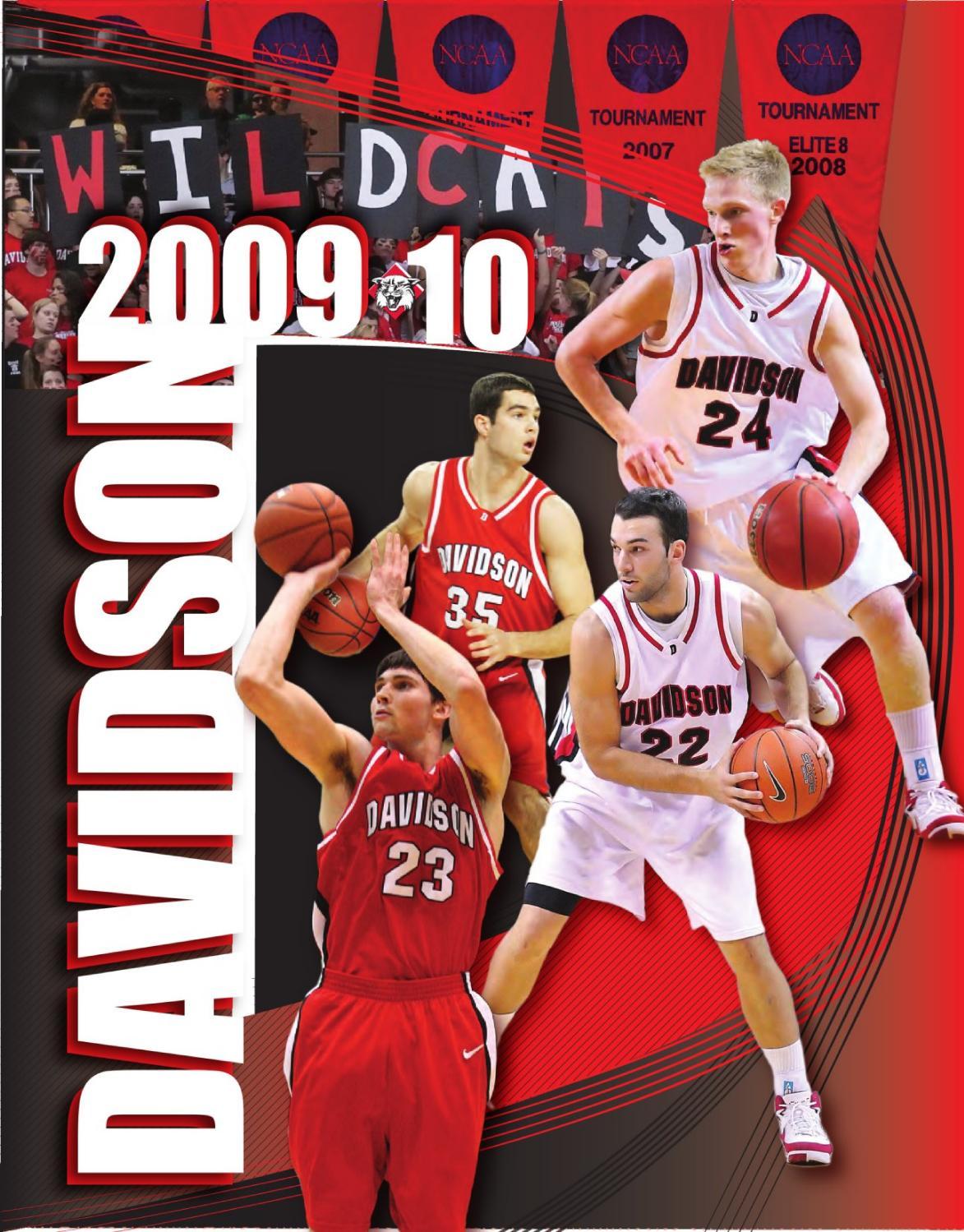 2009 10 davidson men u0027s basketball media guide by marc gignac issuu