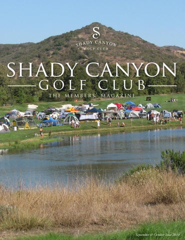 Page 1 Sha Dy C A N Y O Golf Club