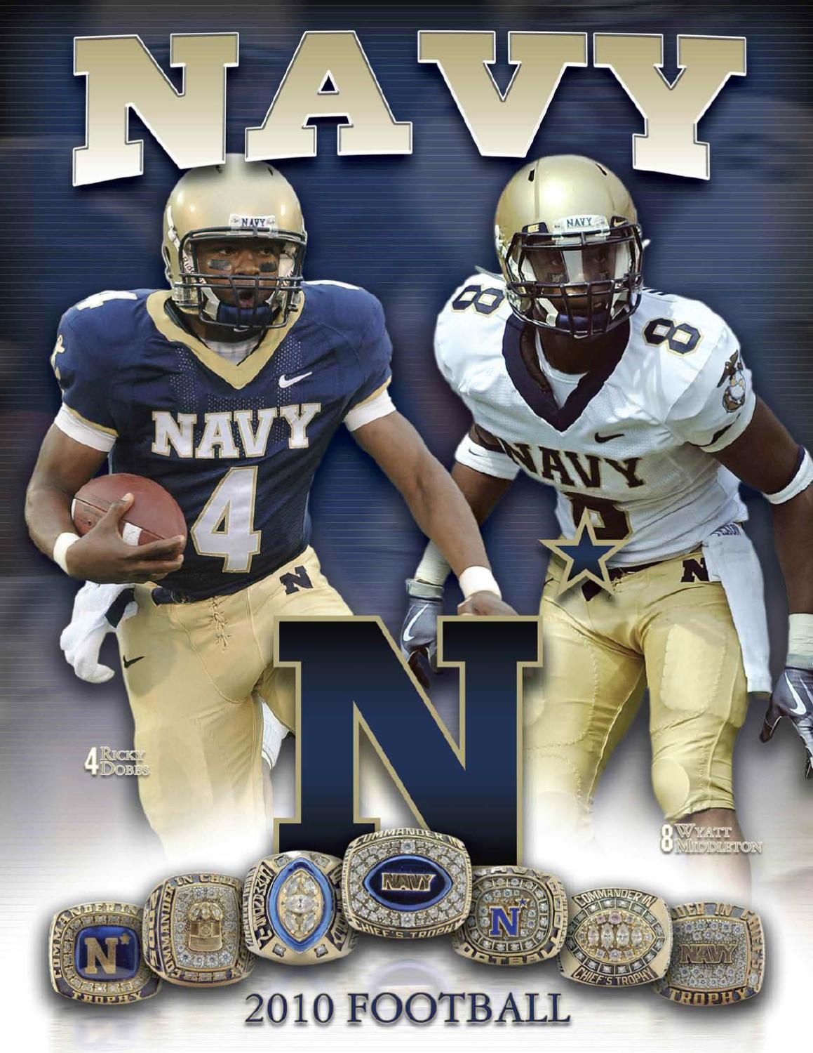 eaa0f1068 2010 Football Guide by Naval Academy Athletic Association - issuu