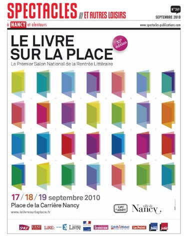 f79868c1fede Spectacles à Nancy    Septembre 2010 by SPECTACLES PUBLICATIONS - issuu
