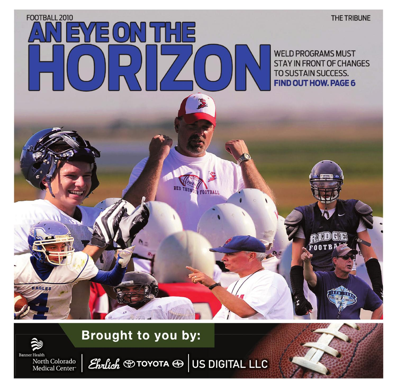 Ehrlich Toyota Greeley >> Weld County Football Preview by The Greeley Publishing Company - Issuu