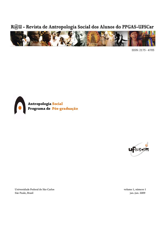 R U v.1 n.1 by R U PPGAS UFSCAR - issuu 5ef9ba5504e2e