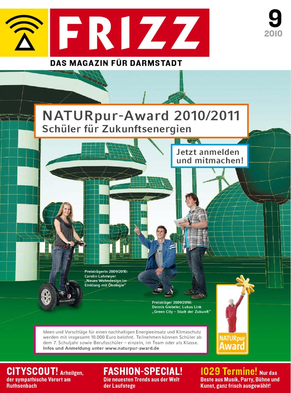FRIZZ Das Magazin für Darmstadt 0910 by FRIZZ Media