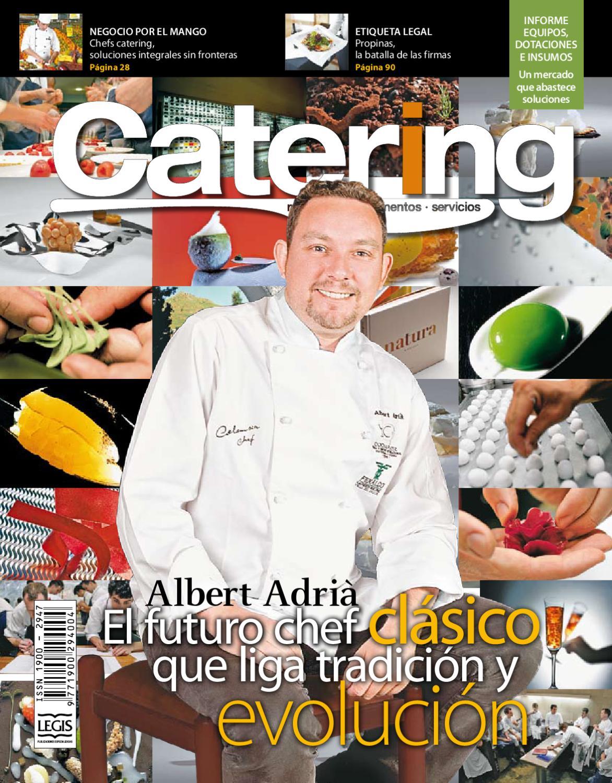 Revista Catering edición 34 by Legis SA - issuu