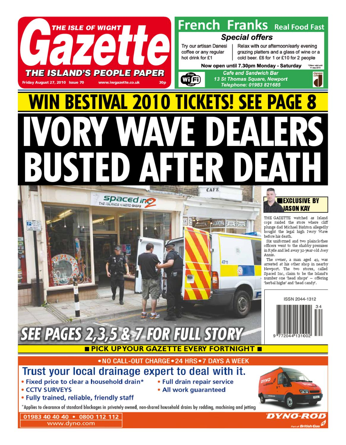 IW Gazette 70 by The Isle of Wight Gazette - issuu