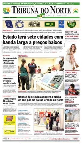 Tribuna do Norte - 27 08 2010 by Empresa Jornalística Tribuna do ... 8d2de14beb