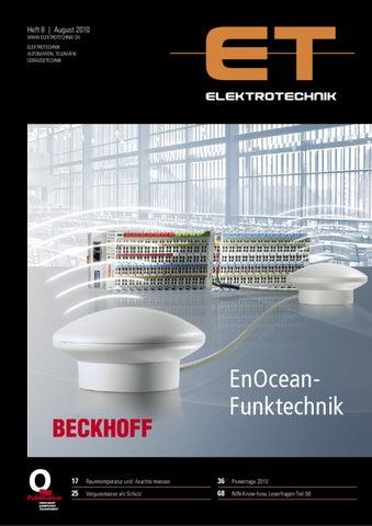 Elektrotechnik 2010/08 by Daniel Gugger - issuu