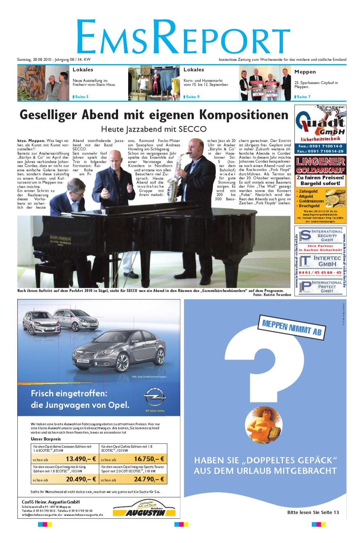 Der Ems Report Ausgabe Online KW 1410 by Ems Report GmbH