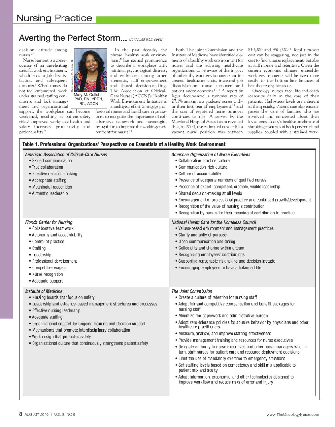 August 2010, Vol 3, No 5 by The Oncology Nurse - issuu