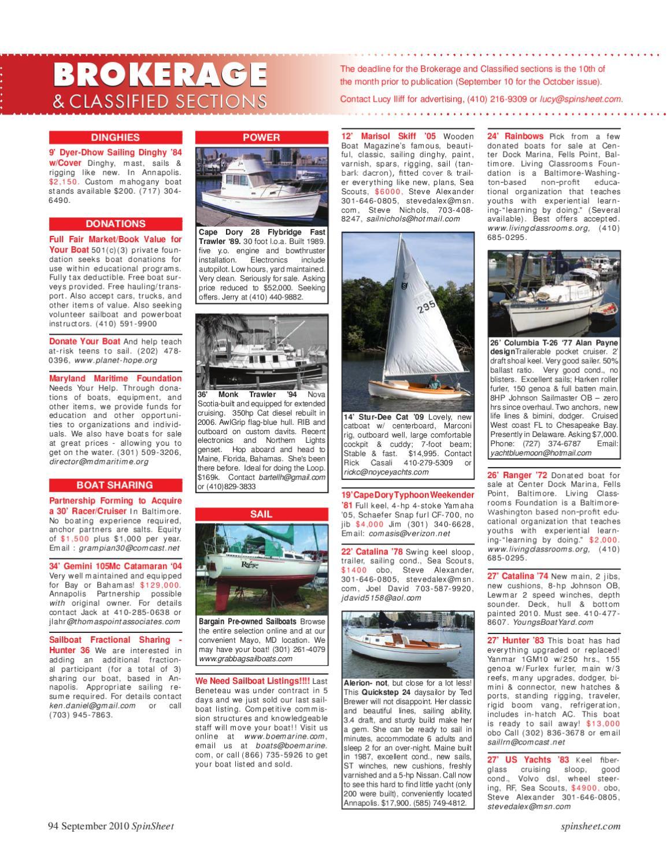 SpinSheet Magazine September 2010 by SpinSheet Publishing