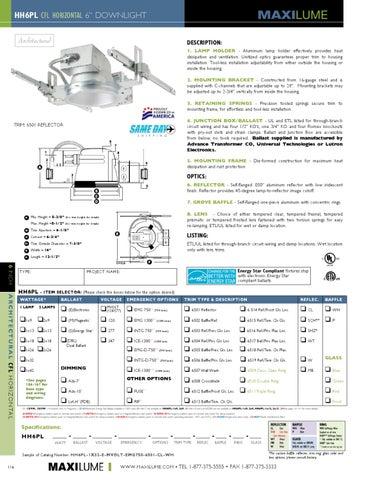 MAXILUME  sc 1 st  Issuu & 2011 Maxilume Catalog by Elite Lighting - issuu