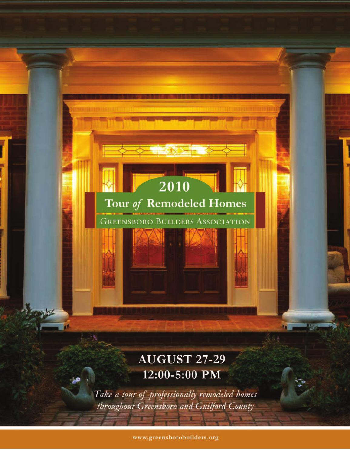 2010 Tour of Remodeled Homes by Greensboro Builders Association - issuu