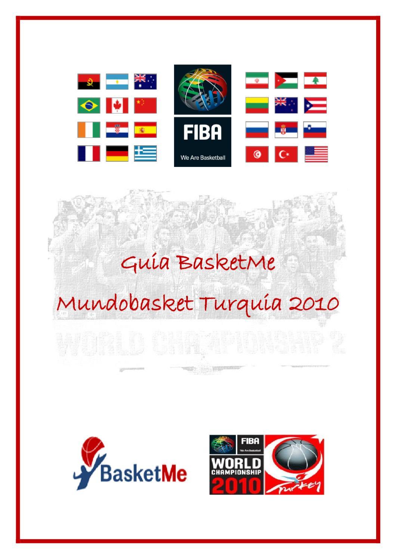 Guía BasketMe Mundial Turquía 2010 (3.0) by Xavier Garcia i Sunyer ...