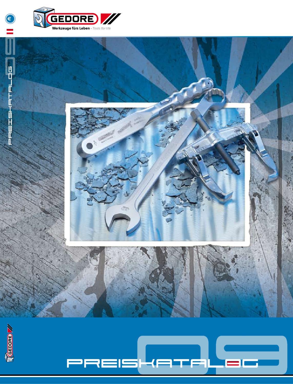 gerade GEDORE 8000 AE 3 Montagezange f/ür Au/ßensicherungsringe 40-100 mm