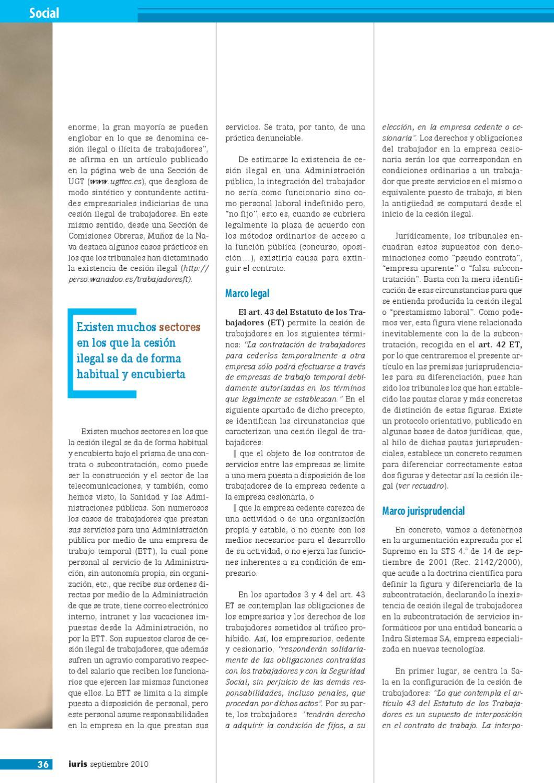 Revista Iuris Septiembre 2010 By Laminarrieta Issuu