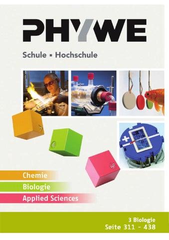 DE Kat. Ch/Bio/ApplSc - Biologie by PHYWE Systeme GmbH & Co KG - issuu