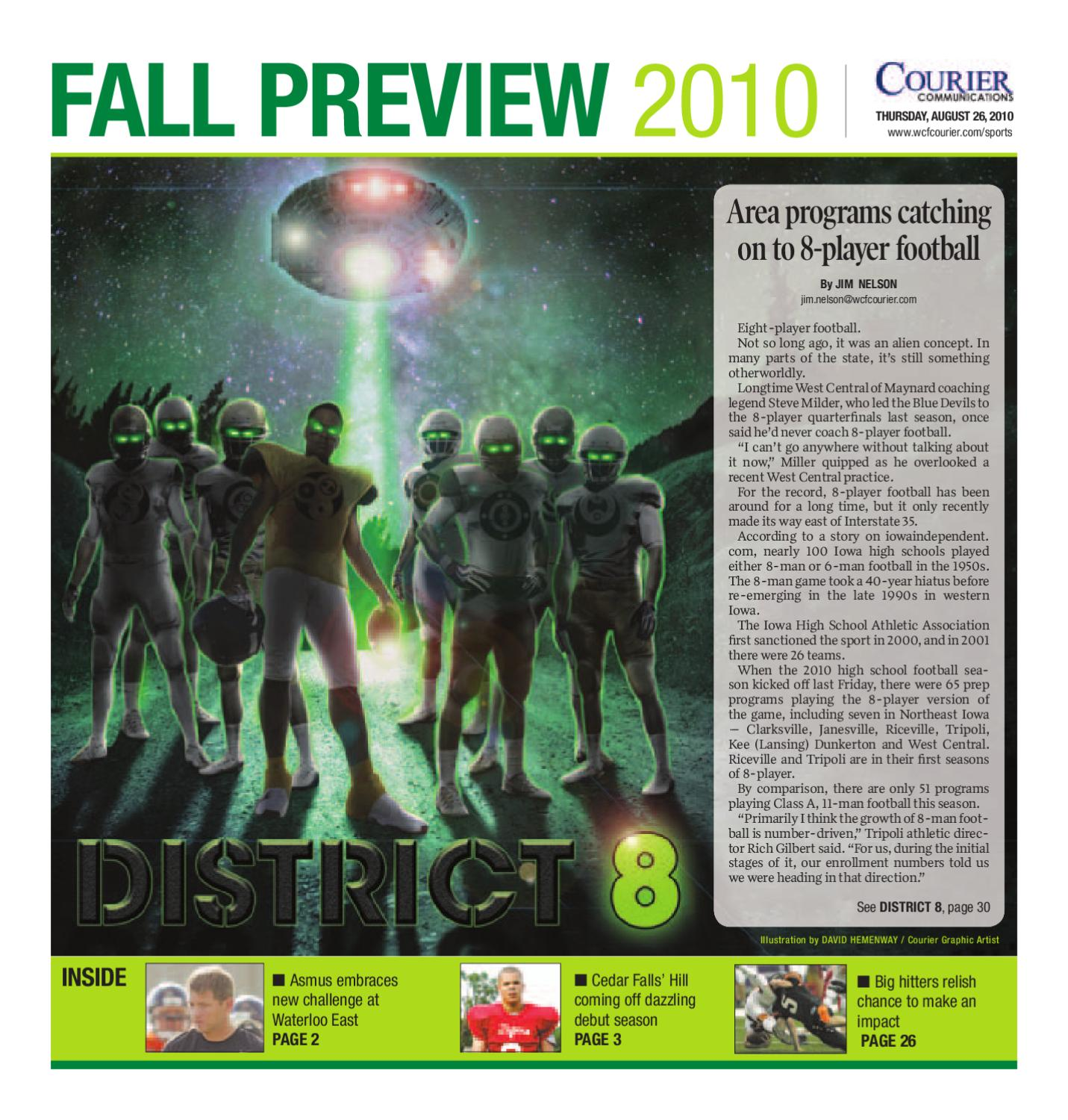 Fall Sports Preview 2010 by Waterloo-Cedar Falls Courier - issuu 4596bb0887