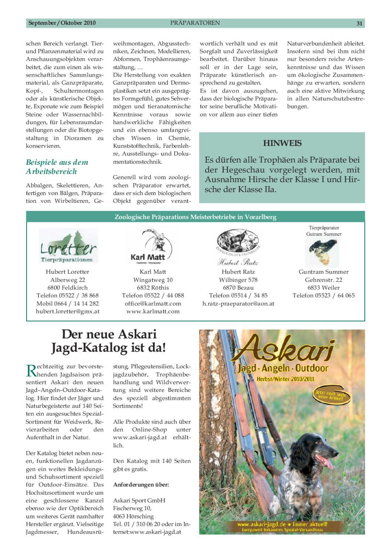 Schnäppchen für Mode Tropfenverschiffen Veröffentlichungsdatum: Vbg. Jagd Sept-Okt 2010 by Vorarlberger Jägerschaft - issuu