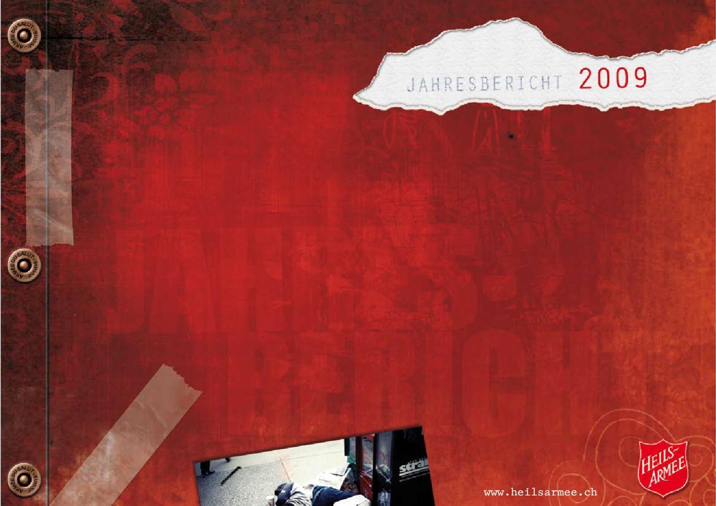 Jahresbericht der Heilsarmee 2009 by Heilsarmee, Armée du Salut - issuu