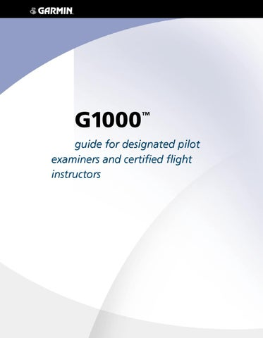 g1000 cfii manual by imc club international inc issuu rh issuu com G1000 Pilot's Guide G1000 Pilot's Guide