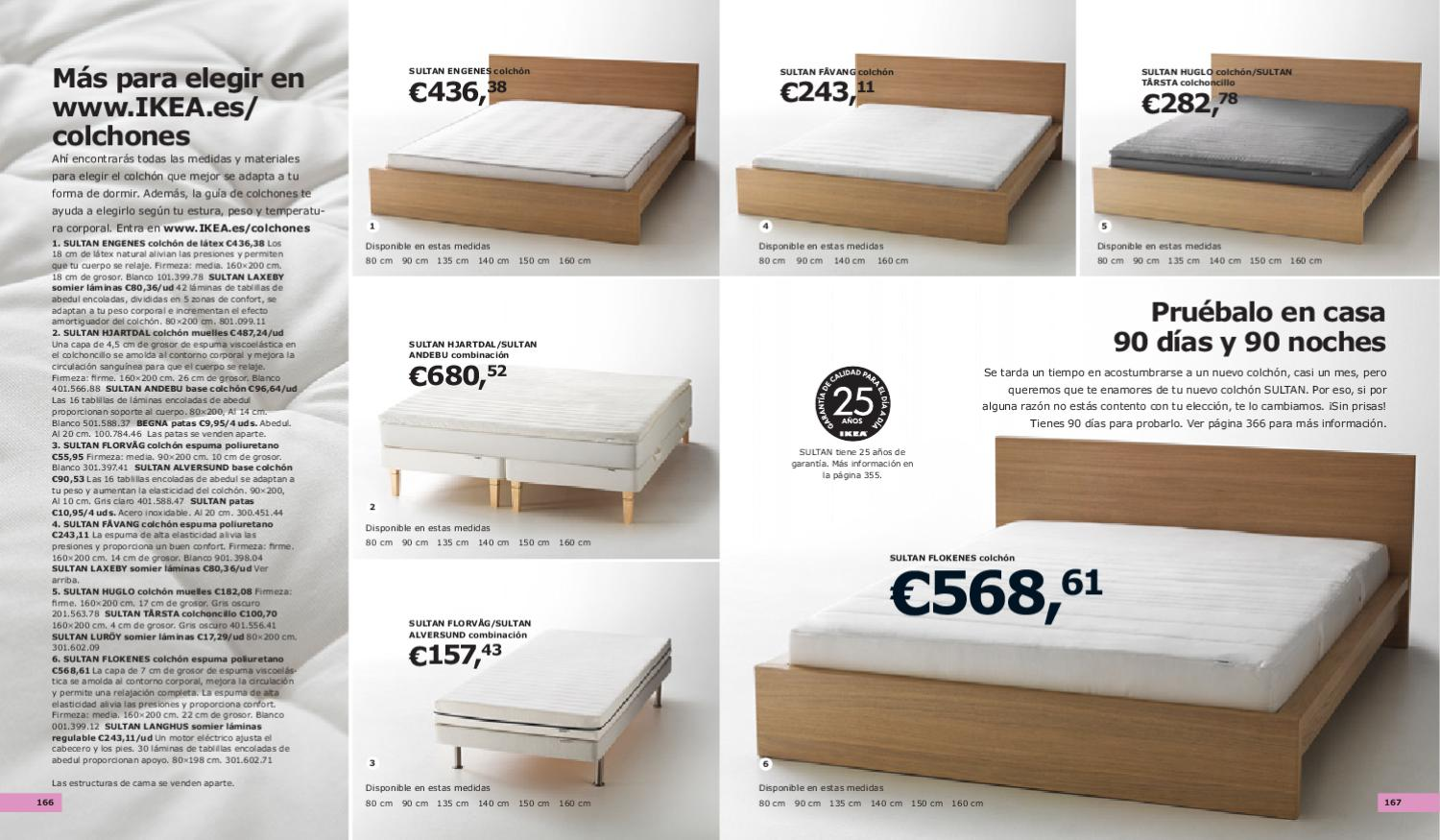 Catalogo ikea 2011 by miguelator issuu - Colchon sultan ...