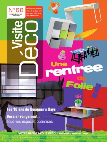 magazine visite deco 68 by visite editions issuu. Black Bedroom Furniture Sets. Home Design Ideas