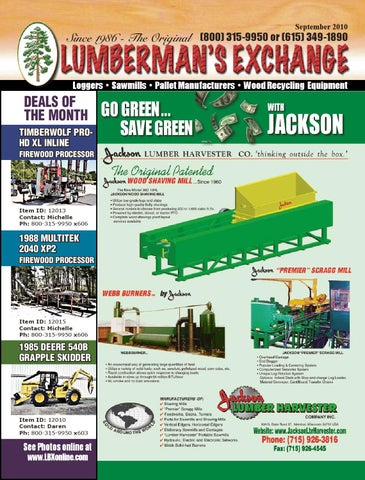 The Lumberman's Exchange brought to you by LBXonline com by