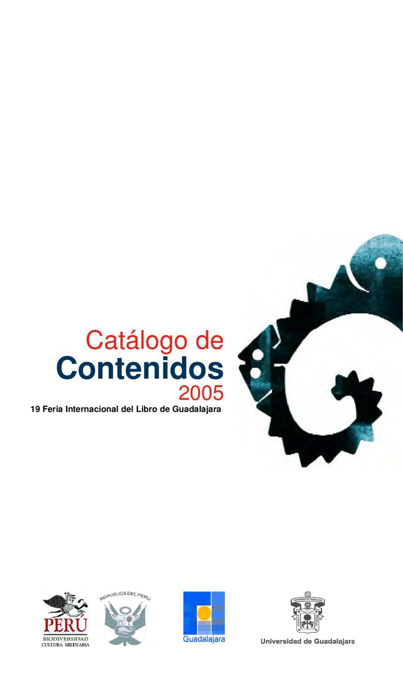 Cat Logo De Contenidos 2009 By Feria Internacional Del Libro De  # Muebles Julian Navalon Guadalajara