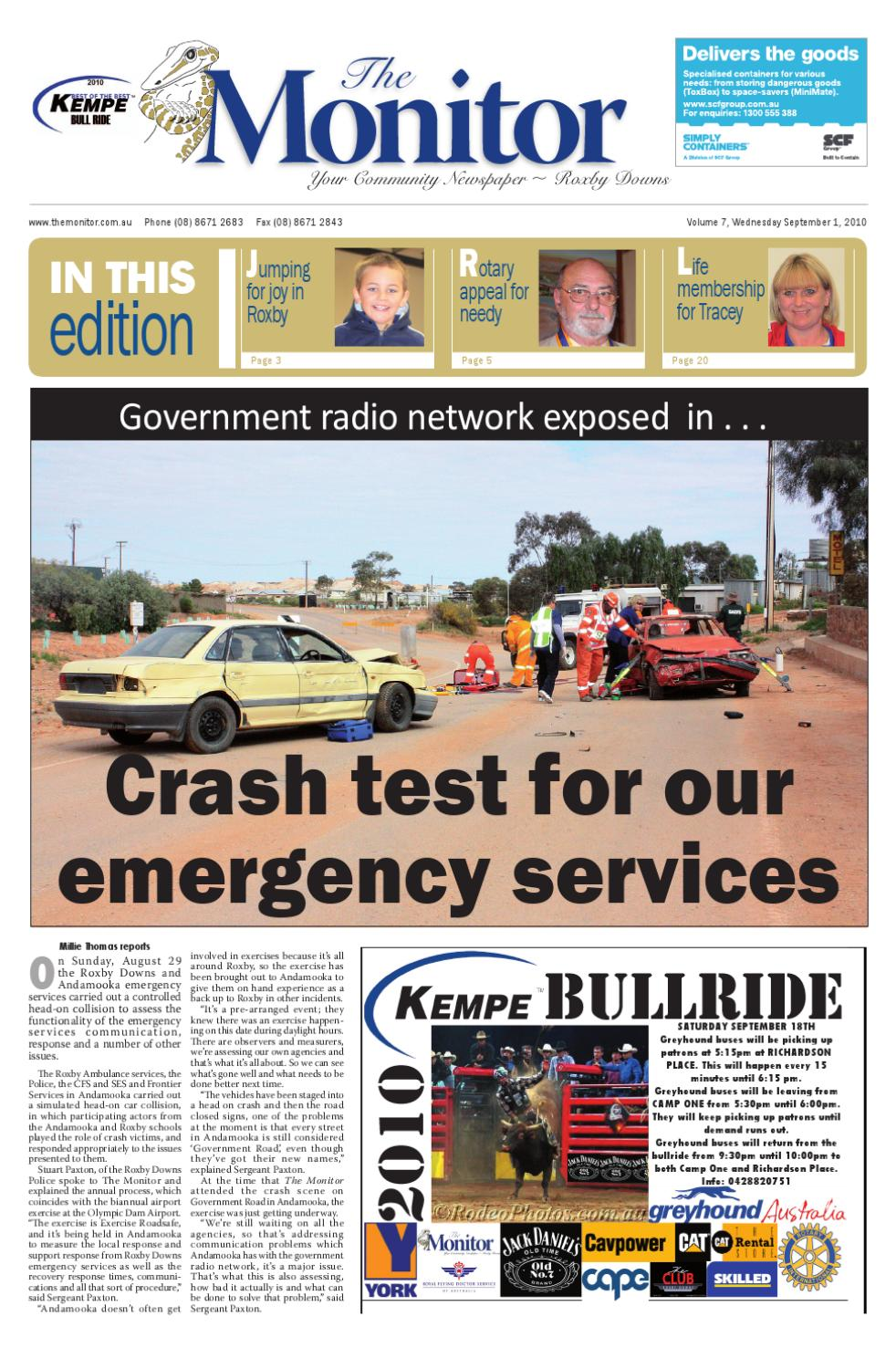 The Monitor Newspaper For 1st September 2010 By The Monitor Inc Issuu