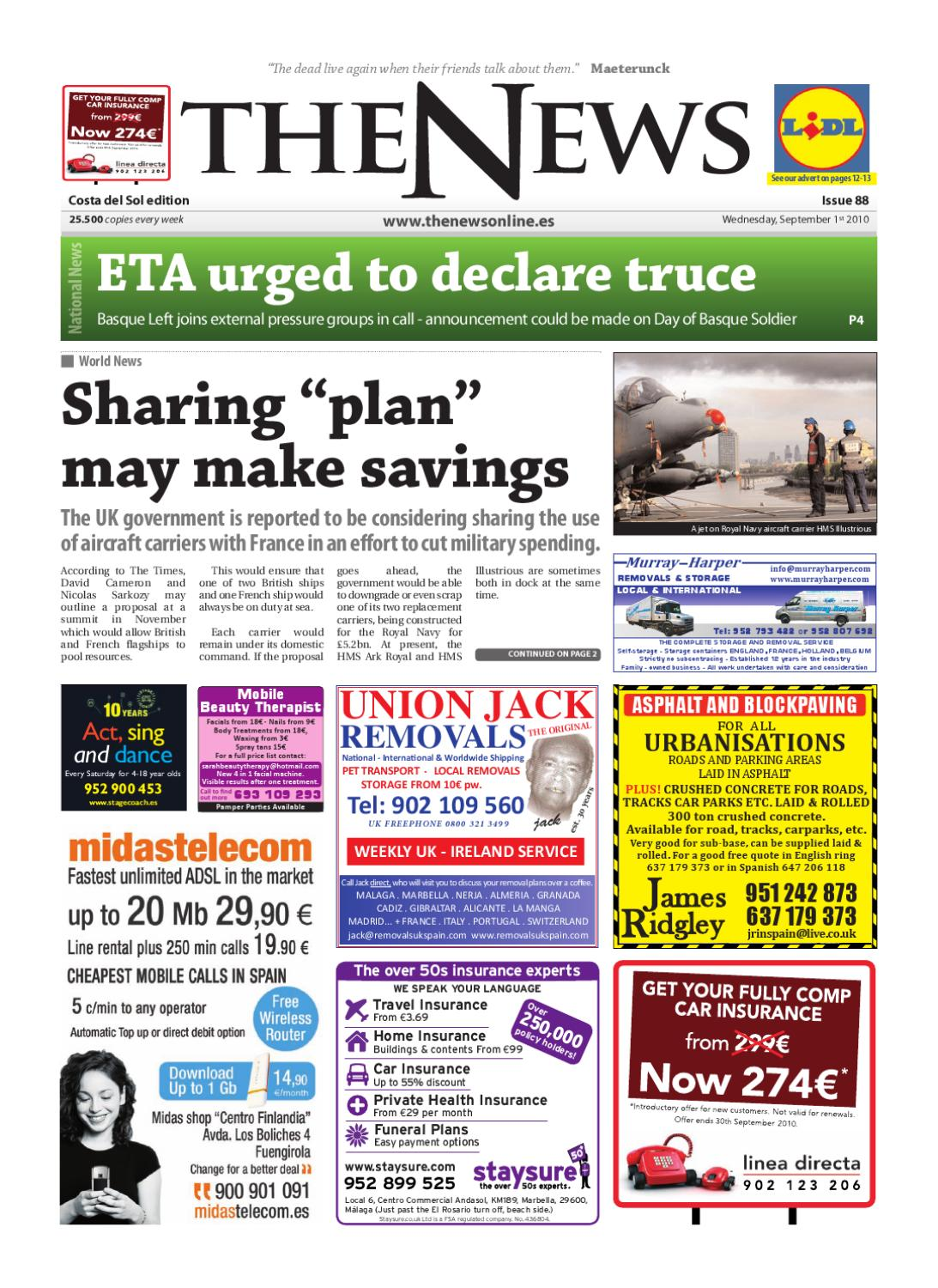 The News Newspaper Issue 088 Sept 1st 2010 By The News
