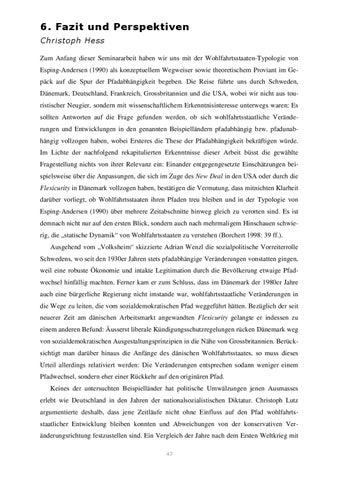 Seminararbeit Wohlfahrtsstaaten By Christoph Lutz Issuu